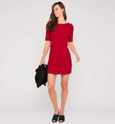 Damen Strickkleid in rot